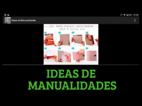 MANUALIDADES  FACIL PARA HACER EN CASA - IDEAS DE MANUALIDADES - ALL4ANDROID