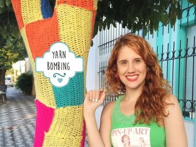 Yarn Bombing - Bombardeio de Fios
