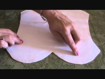 Bolsa 2 em 1 de Crochê  Parte I Técnica de forração com EVA .wmv