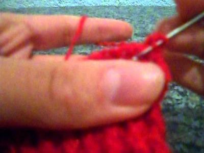 Cachecol de crochê com cano de PVC