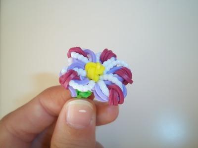 Como fazer uma flor de elásticos