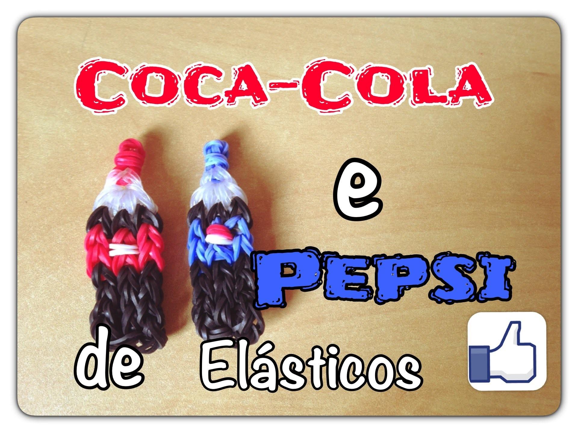 Rainbow Loom - Coca-Cola e Pepsi | Criativa