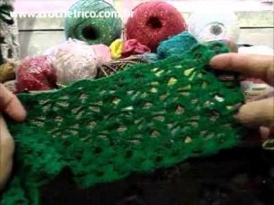 Crochê - Blusa Verde - 02.03