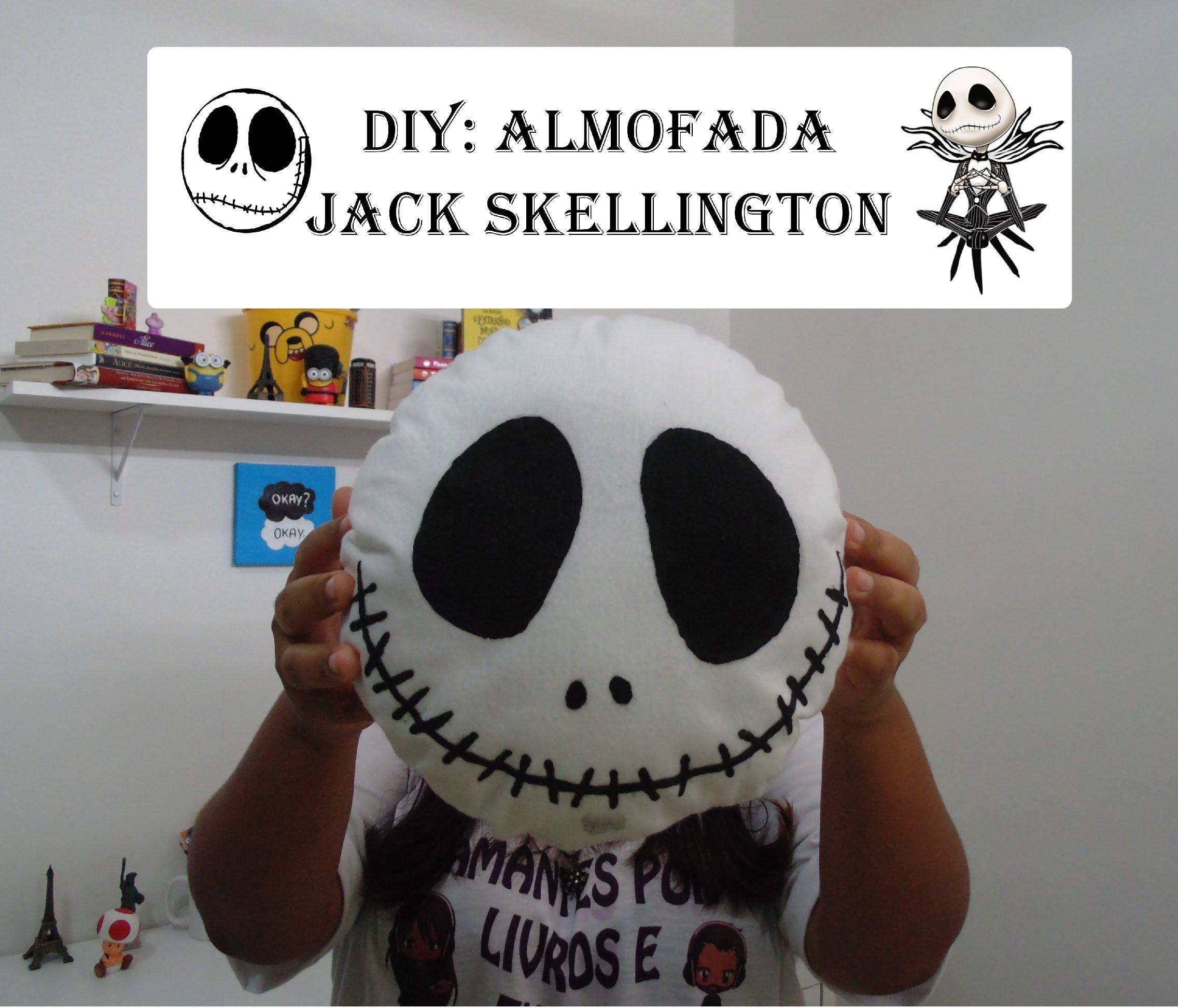 DIY Almofada do Jack skellington