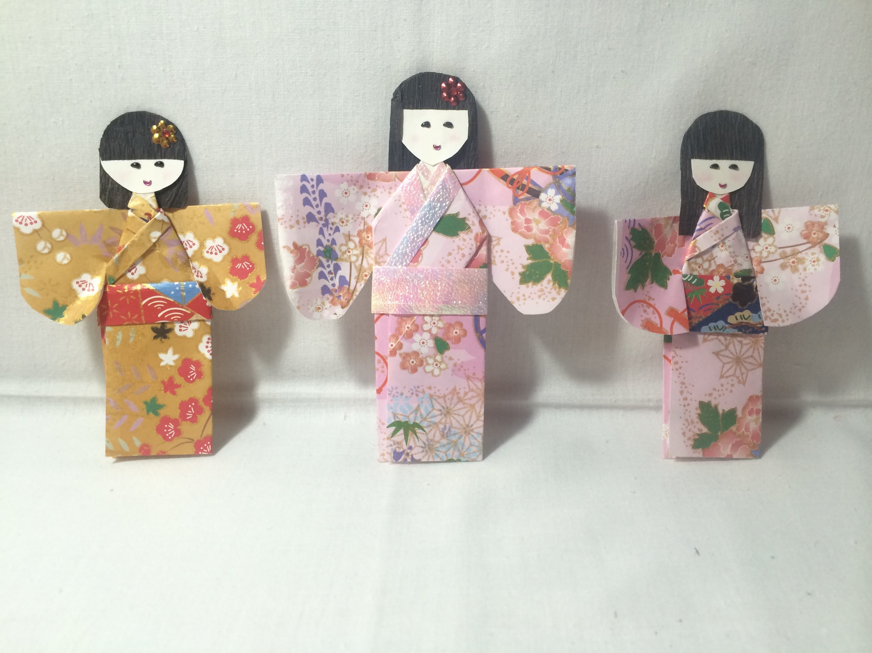 DIY - Boneca Japonesa de Origami