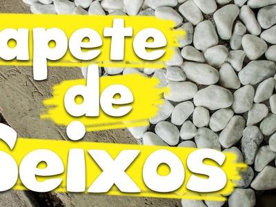 DIY: Como fazer um tapete de Seixos - Granola com Iogurte