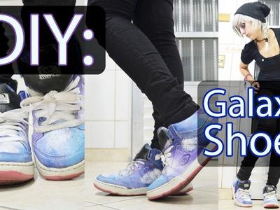 DIY: Galaxy Shoes (Tênis com Estampa de Galaxia)