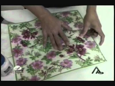 Janete Pinheiro   Caixinha com arte Italiana