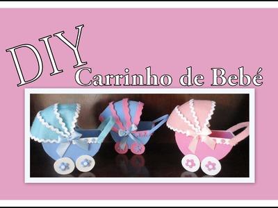 Lembrançinha de Bebé - DIY - Carrinho de Bebé em EVA