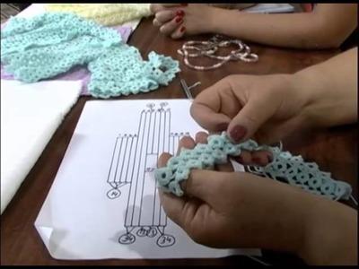 Mulher.com - 08.11.2012 - Irene Mauzer - Casaquinho de Bebê de Frivolitté 02