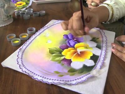 Mulher.com 10.07.2013 Ana Laura Rodrigues - Pintura em tecido Parte 2.2