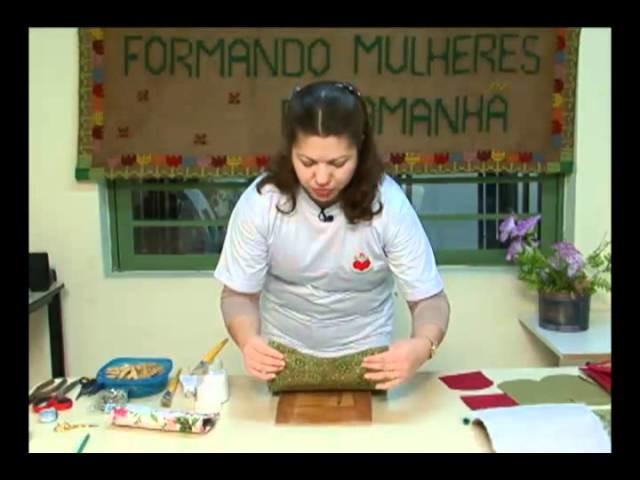 Mulher.com 19.10.2011 - Bolsa carteira de Papelão 1.2