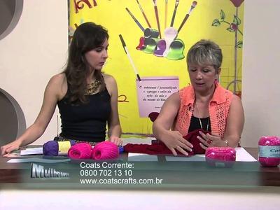Mulher.com 25.02.2013 Vitória Quintal - Colete  parte 2