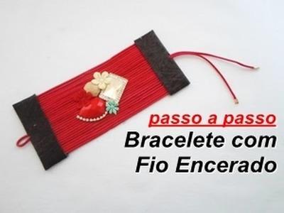 NM Bijoux - Bracelete Com Fio Encerado