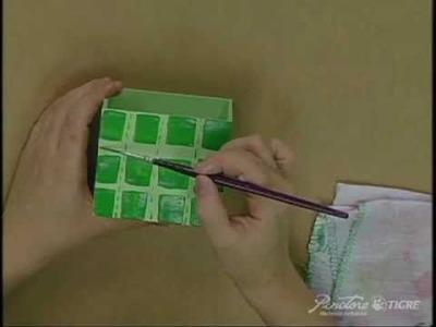 Passo a Passo Técnica Xadrez  Pinctore Tigre