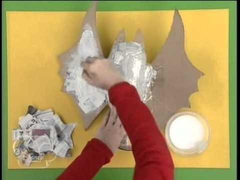 Art Attack - Especial Hallowen - Como fazer um morcego.