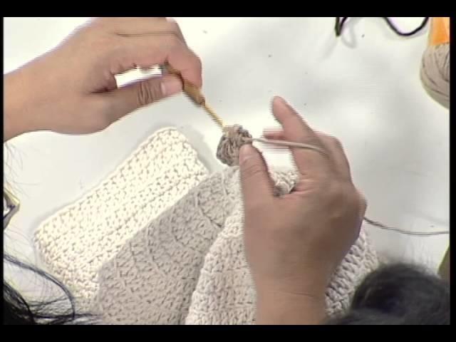 Artesanato - Tapete em crochê