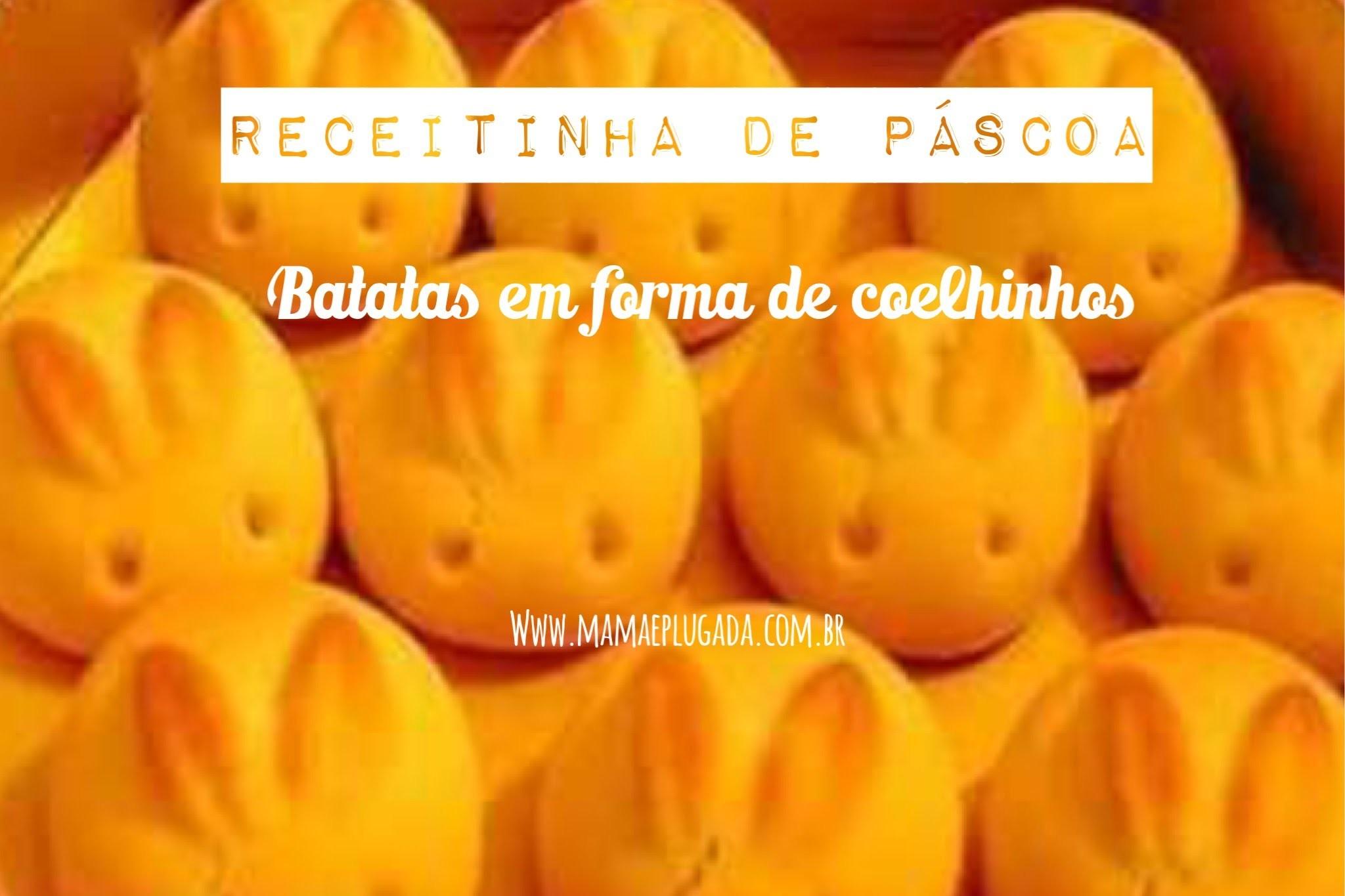 Batata em Forma de Coelhinhos: Tutorial Potato Easter Bunny Cooking Show