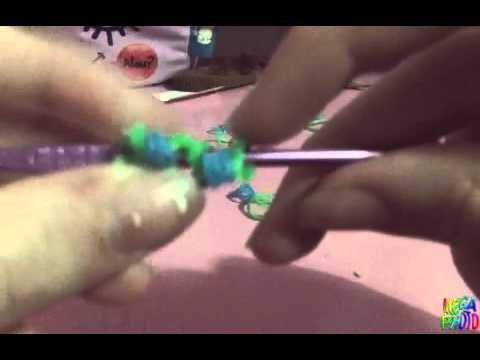 Como fazer uma flor de elastico