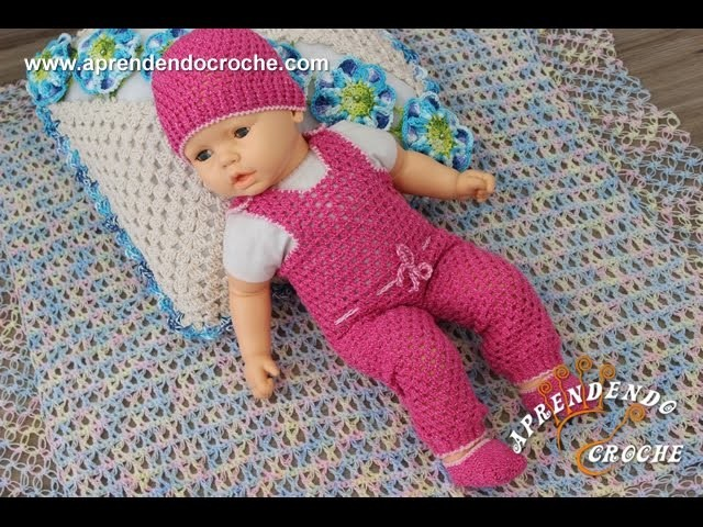 Conjunto Crochê Bebê a Bordo - Sapatinho - Aprendendo Crochê
