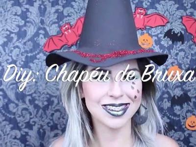 Diy: Chapéu de Bruxa de EVA