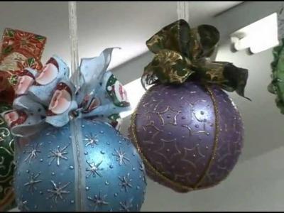 Mensagem de Natal da Iára e bolas natalinas