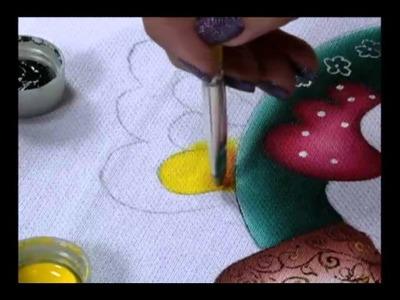 Mulher.com 15.06.2011 - Pintura em tecido