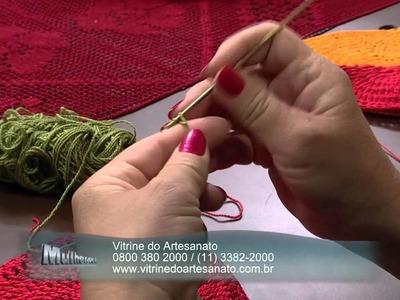 Mulher.com 21.11.2013  Crochê- Carmem Freire -   (Bloco 1.2)