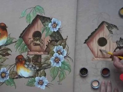 Pássaros em Emborrachado (Parte 2.Aula 7)