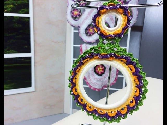 Programa Arte Brasil - 25.05.2015 - Maria José  - Porta Pano em Crochê