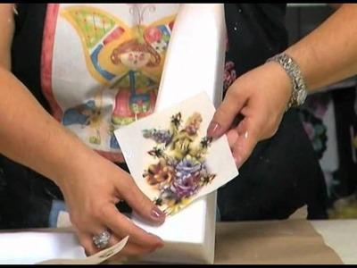Sandra Rossi - Garrafa com decalque