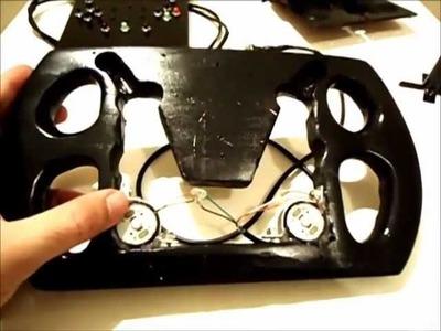 Volante Caseiro para XBOX 360 ou PC USB - Tutorial. (homemade steering wheel)