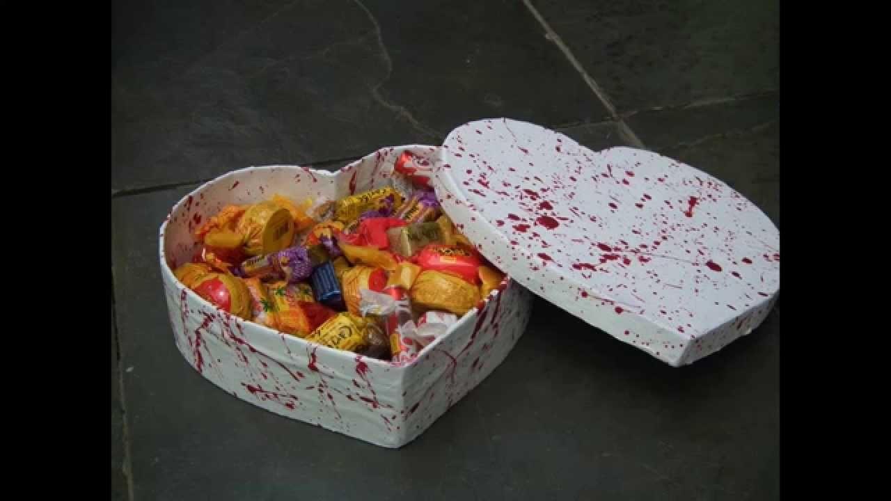 Como fazer uma caixa de presente coração fácil, rápido e quase de graça.