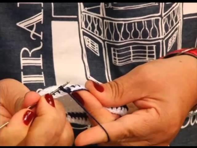 Fazendo Arte - sapatinhos de crochê (14.11.13)