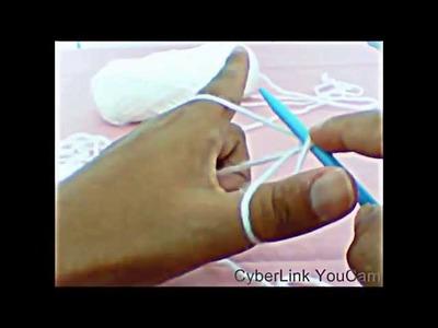Formas de fazer a laçada inicial no tricô
