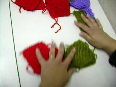 Meias de tricot parte 1