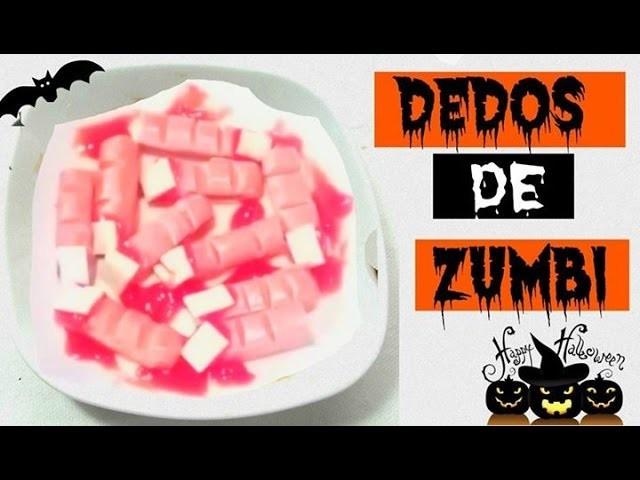 DIY: Dedos de Zumbi ✞ HALLOWEEN