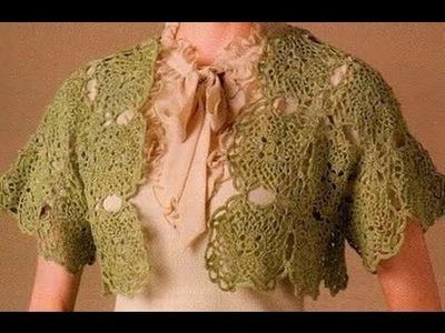 Gráficos para tejer Torera a Crochet