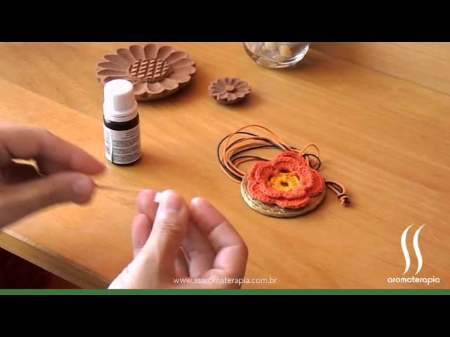 Como usar o Difusor Pessoal Mandala em Crochet