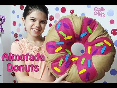 Como fazer Almofada Donuts - passo a passo -#Artesanato