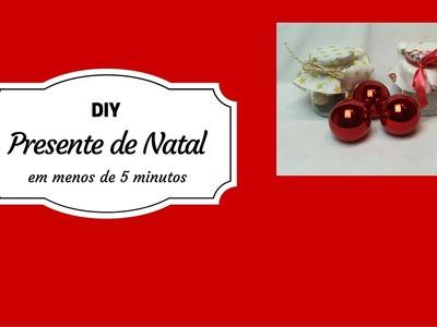 DIY: Como fazer um presente de natal em menos de 5 minutos