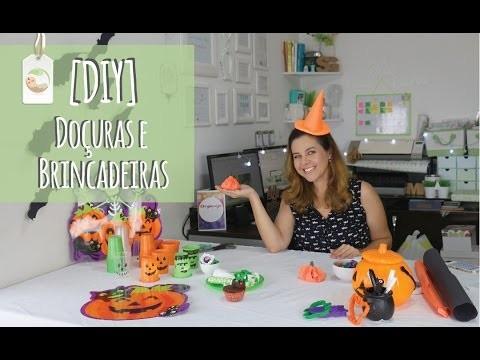 DIY | Faça Você Mesmo - Dia das Bruxas | Gostosuras e Decorações para o Halloween das Crianças