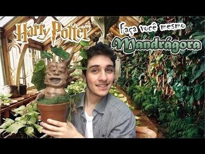DIY; Faça você mesmo Mandrágora! Harry Potter!