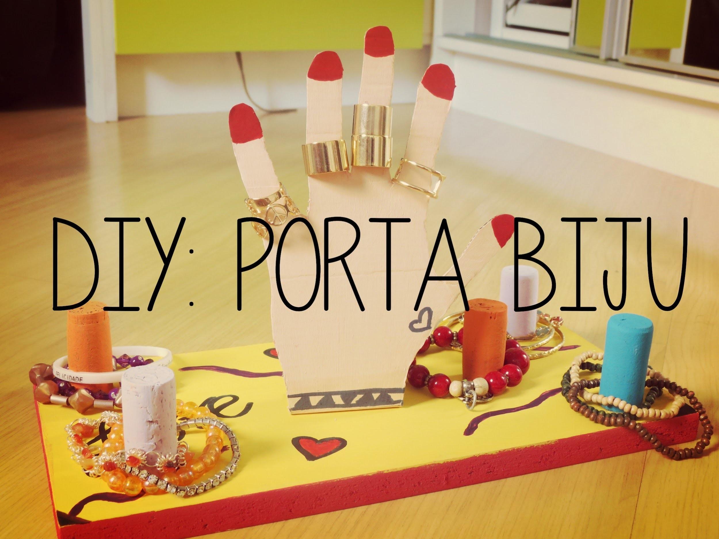 DIY: Porta Biju - Porta Anel e Pulseira ( Faça você mesma)
