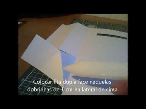 Sacolinha de presente (baggie paper) DIY