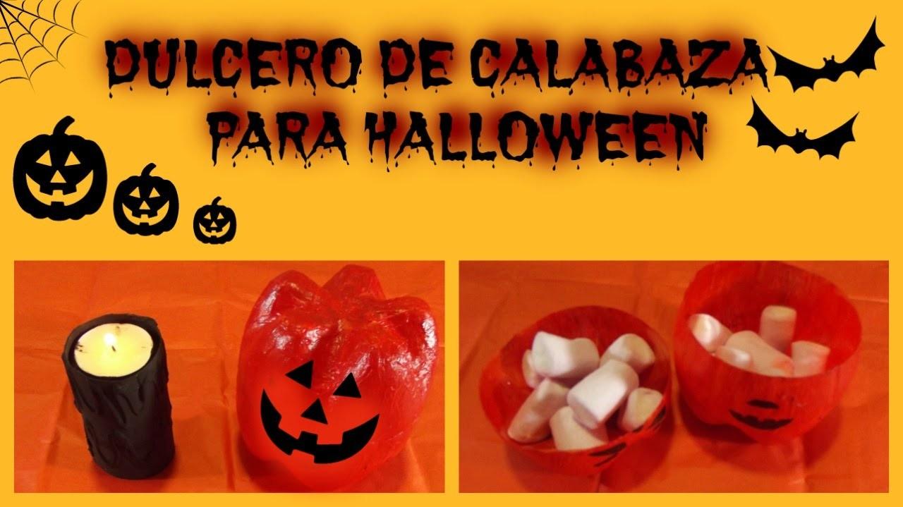 Manualidades: Porta-doces de Abóbora - Halloween 2