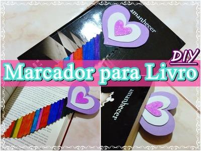 DIY ✂ Marcador para Livro Super Fácil!