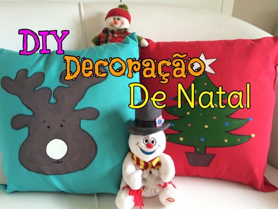 DIY. Faça você mesmo:  Decoração de Natal Parte 2