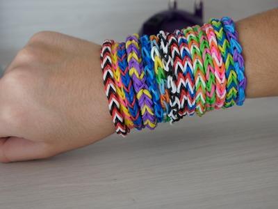 DIY: Rainbow Loom -pulseirinhas de elástico