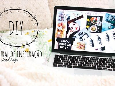 DIY desktop wallpaper | mural de inspiração